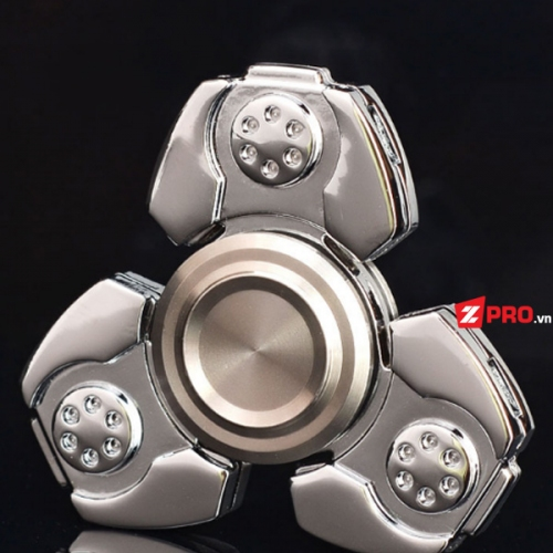 Fidget Spinner Space ship - Bạc