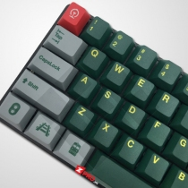 Bộ Keycap PBT Green Train
