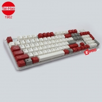 Bộ Keycap TaiHao White Red