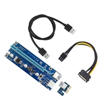 Dây Riser PCI Express 1X to 16X USB 3.0 Ver 009s