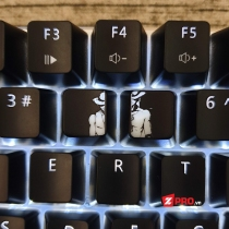 Keycap One Piece Luffy và ACE