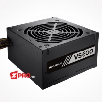 Nguồn Corsair VS600 600W 80 PLUS® White Certified PSU