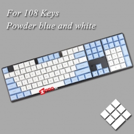 Bộ Keycap PBT DSA Powder Blue 145 keys
