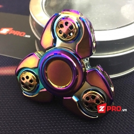 Fidget Spinner Space ship - Rainbow