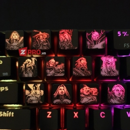Keycap Dota 2 Avatar Intel Hero