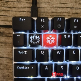 Keycap One Piece Trafalgar Law Icon