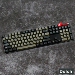 Bộ Keycap Taihao Dolch