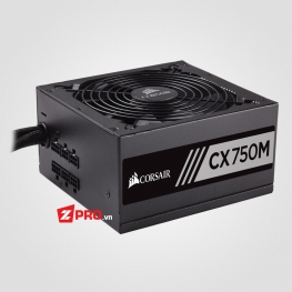 Nguồn Corsair CX750M 750W 80 PLUS® Bronze Semi-Mod