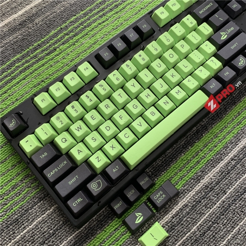 Bộ Keycap PBT Lime (Cherry Profile)