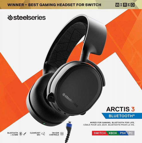 Tai nghe SteelSeries Arctis 3 Bluetooth - 61509